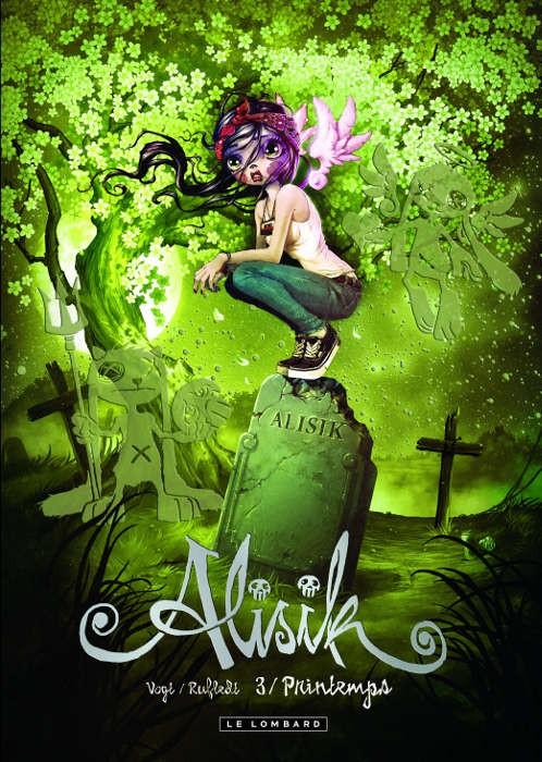 Couverture de Alisik -3- Printemps