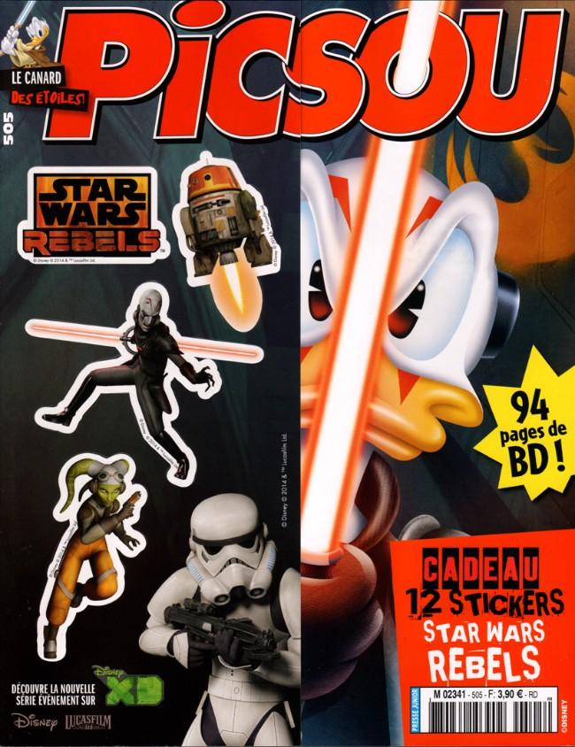 Couverture de Picsou Magazine -505- Picsou Magazine n° 505