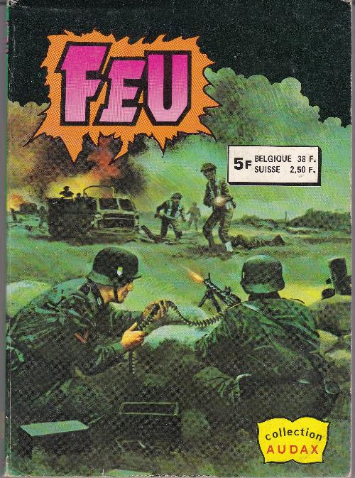 Couverture de Feu -Rec08- Recueil 5713 (16, 17)