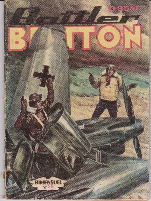 Couverture de Battler Britton (Imperia) -58- Invasion manquée