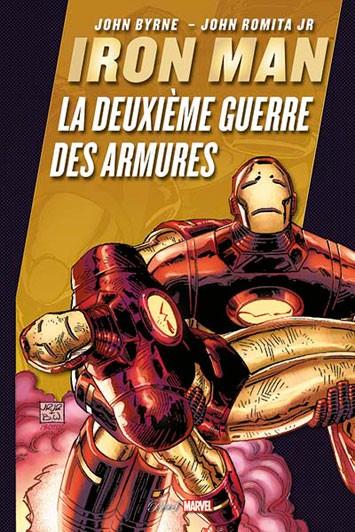 Couverture de Best of Marvel -40- Iron Man : La deuxième guerre des armures