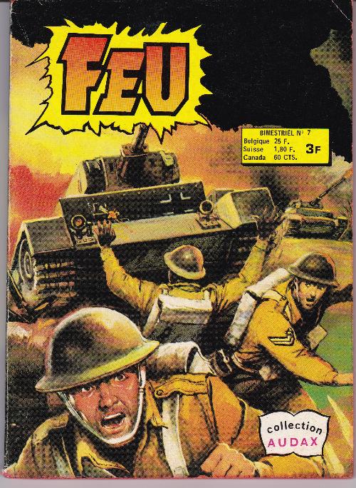 Couverture de Feu -7- La guerre de Tommy Atkins