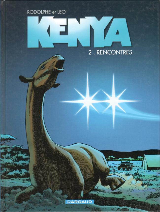 Couverture de Kenya -2- Rencontres