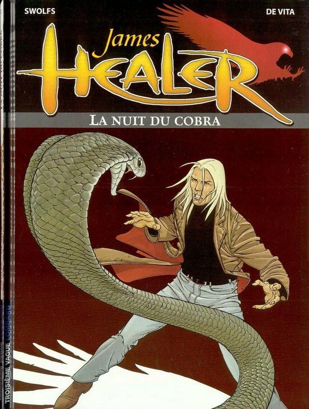 Couverture de James Healer -2- La nuit du cobra