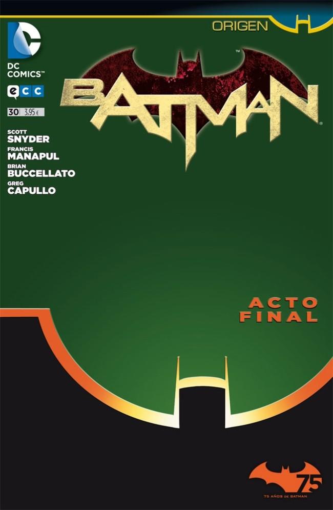 Couverture de Batman (en espagnol) -30- Origen. Acto Final