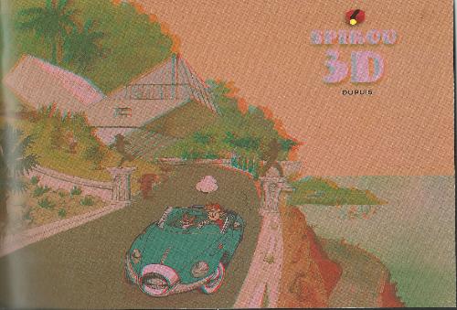 Couverture de Spirou et Fantasio -2- (Divers) - Spirou 3D