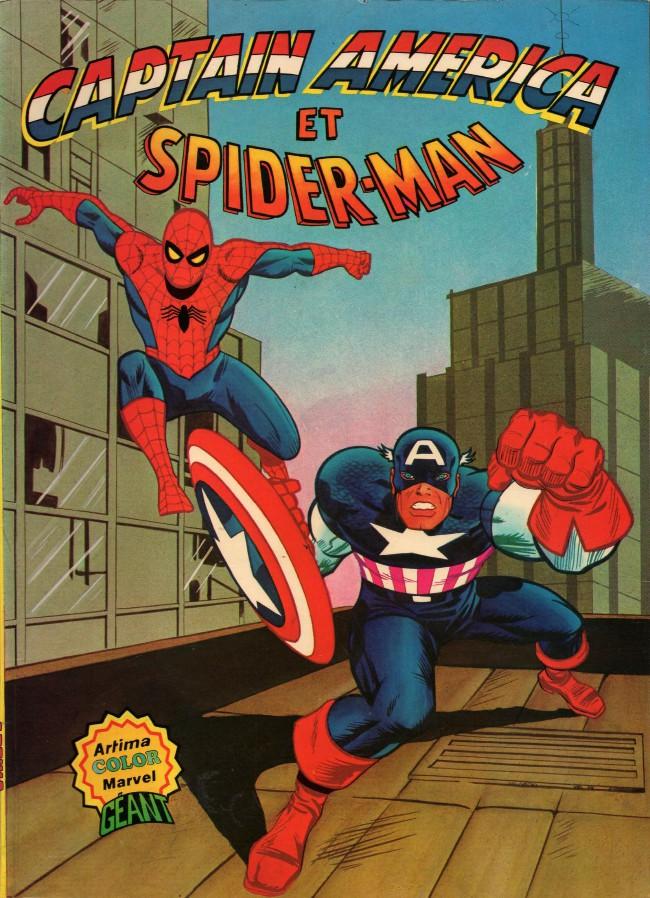 Captain america et spider man bd informations cotes - Et spider man ...