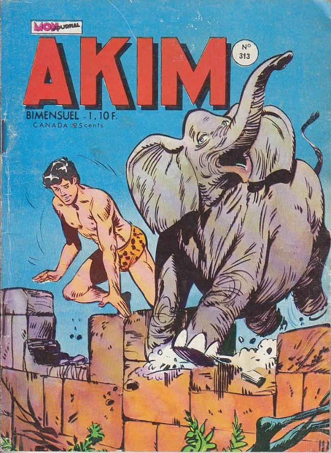 Couverture de Akim (1re série) -313- La loi des lions