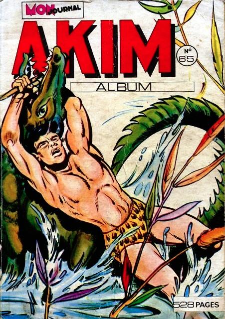 Couverture de Akim (1re série) -Rec065- Album N°65 (du n°381 au n°384)