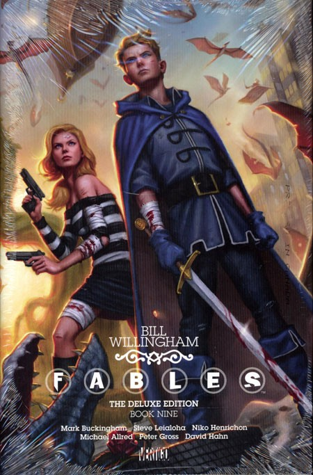 Couverture de Fables (2002) -INTHC09- The Deluxe Edition Book Nine