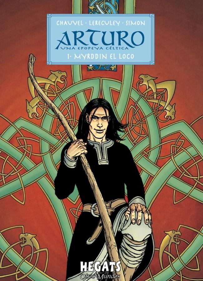Couverture de Arturo -1- Myrddin El Loco