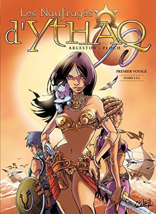 Couverture de Les naufragés d'Ythaq -INT2- Premier Voyage - Tomes 4 à 6