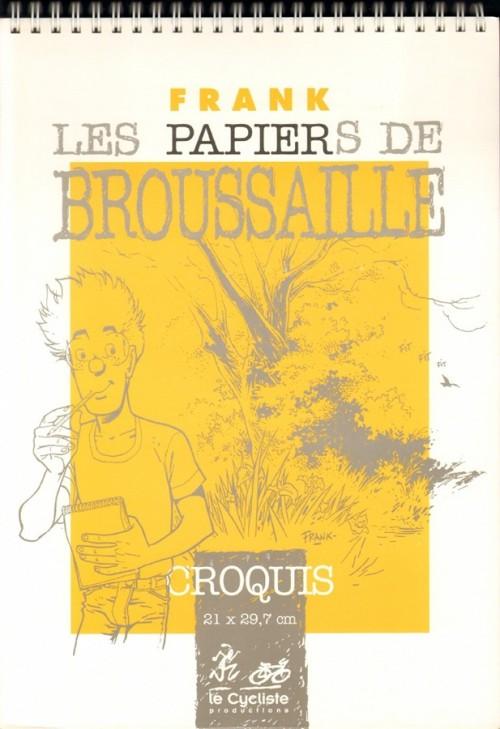 Couverture de Broussaille -HS2- Les papiers de Broussaille