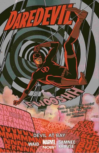 Couverture de Daredevil Vol. 4 (Marvel - 2014) -INT01- Devil At Bay