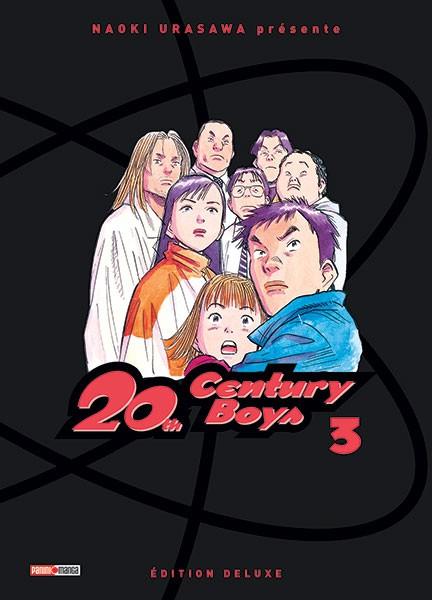 Couverture de 20th Century Boys - Deluxe -3- Tome 3