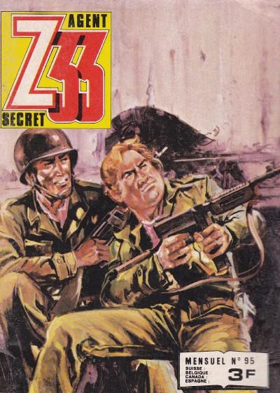 Couverture de Z33 agent secret -95- Les diables invisibles
