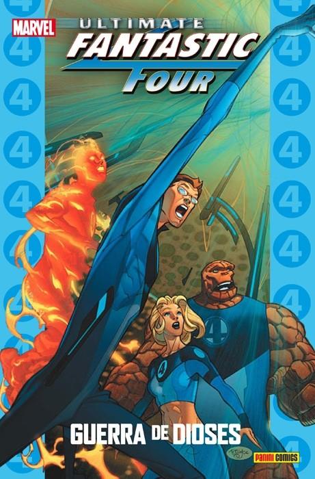 Couverture de Ultimate - Coleccionable Ultimate -68- Ultimate Fantastic Four 6: Guerra de Dioses