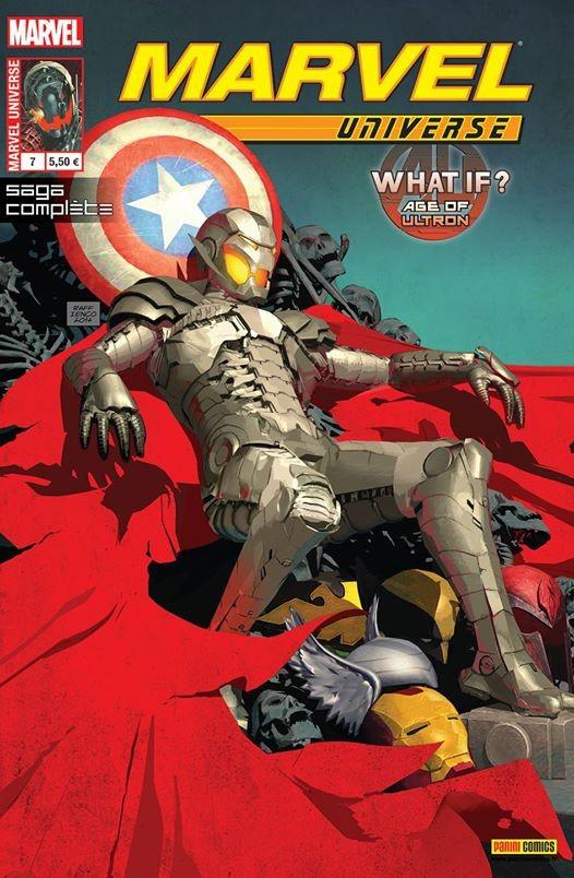 Couverture de Marvel Universe (Panini - 2013) -7- Age of Ultron