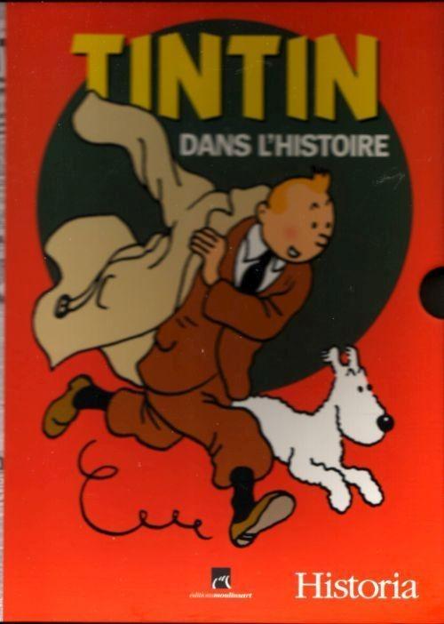 Couverture de Tintin - Divers -64- Tintin dans l'histoire de 1930 à 1986