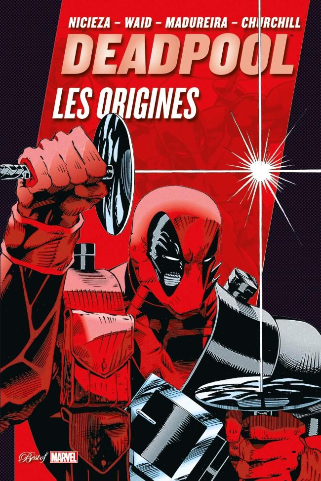 Couverture de Best of Marvel -41- Deadpool : Les Origines