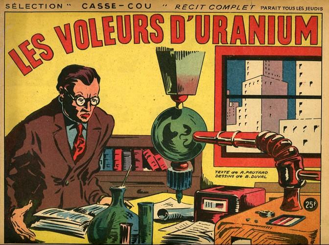 Couverture de Casse-cou -12- Les Voleurs d'uranium