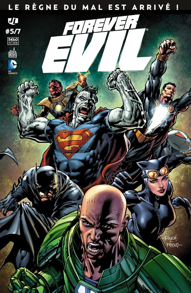 Couverture de Forever Evil -5- Volume 5
