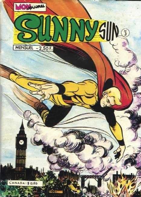 Couverture de Sunny Sun -3- Panique sur les docks