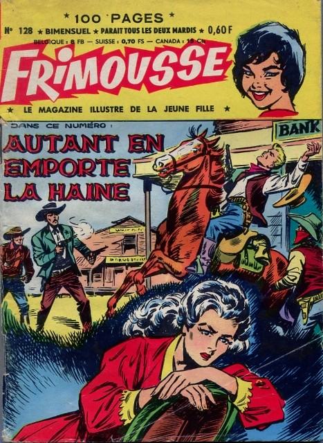 Couverture de Frimousse et Frimousse-Capucine -128- Autant en emporte la Haine