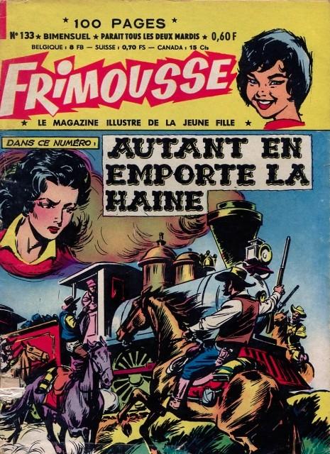 Couverture de Frimousse et Frimousse-Capucine -133- Autant en emporte la Haine