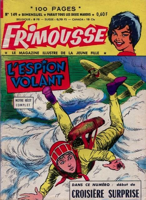 Couverture de Frimousse et Frimousse-Capucine -149- L'espion volant