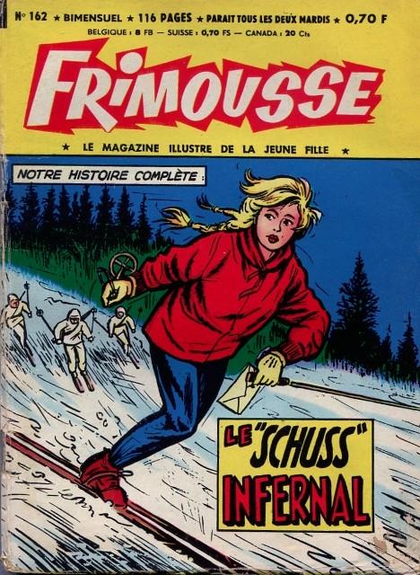 Couverture de Frimousse et Frimousse-Capucine -162- Le schuss infernal