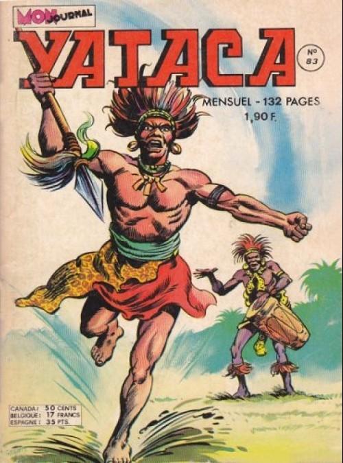 Couverture de Yataca (Fils-du-Soleil) -83- La révolte des Bwakas