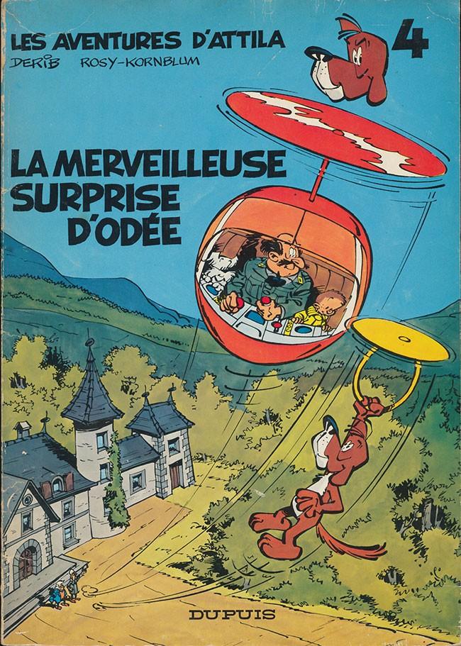 Couverture de Attila (Les aventures d') -4- La merveilleuse surprise d'Odée