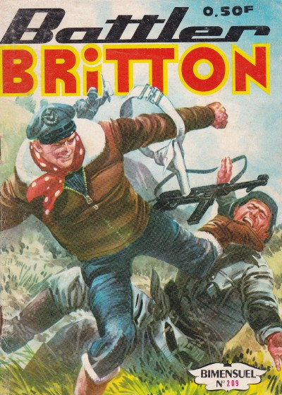Couverture de Battler Britton (Imperia) -209- Armes alliées