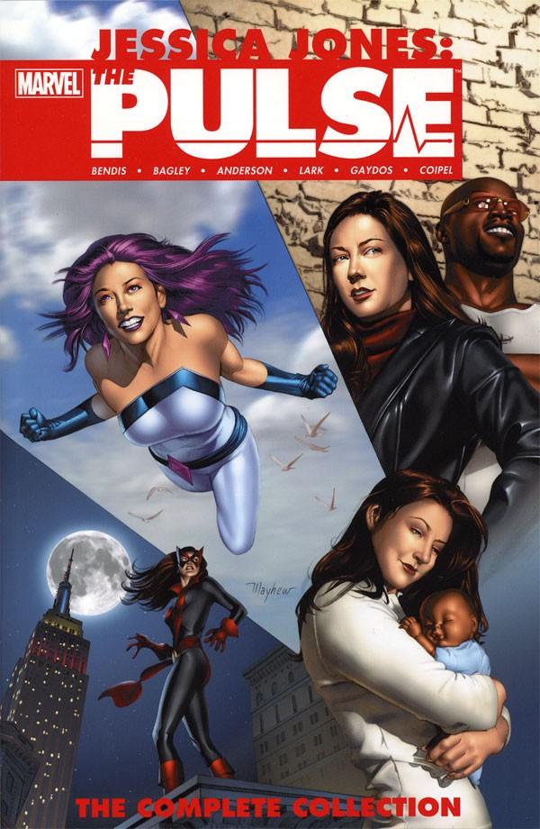 Couverture de Pulse (The) (2004) -INT- Jessica Jones - The Pulse: The Complete Collection