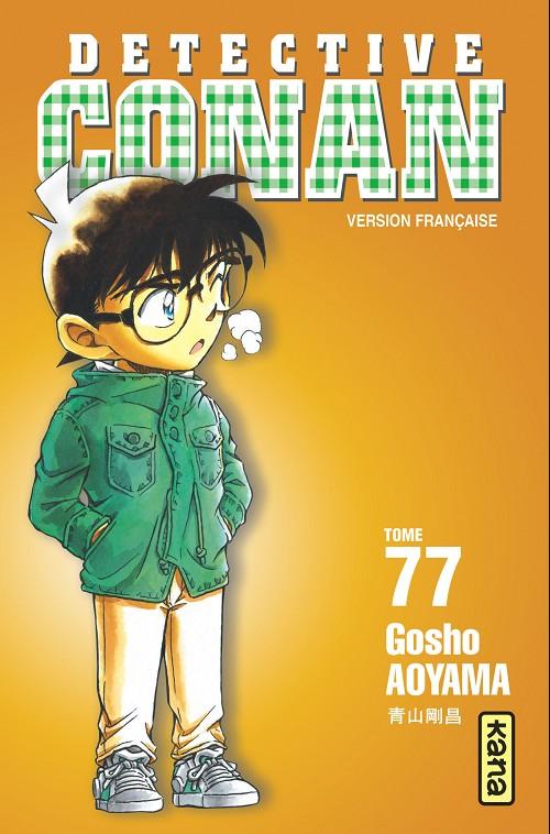Couverture de Détective Conan -77- Tome 77