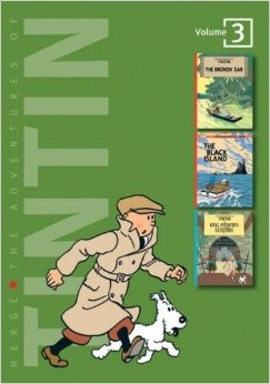 Couverture de Tintin (The Adventures of) (Intégrale - 2007) -3- Volume 3
