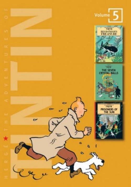 Couverture de Tintin (The Adventures of) (Intégrale - 2007) -5- Volume 5