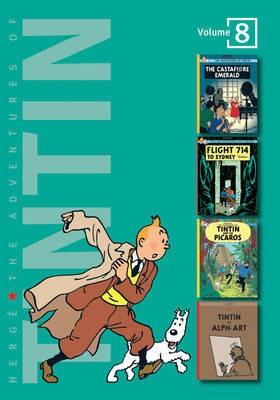 Couverture de Tintin (The Adventures of) (Intégrale - 2007) -8- Volume 8