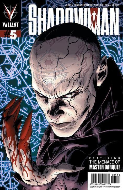 Couverture de Shadowman (2012) -5- Issue 5