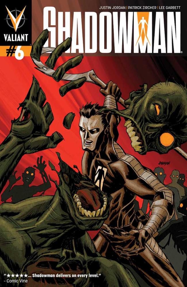 Couverture de Shadowman (2012) -6- Issue 6
