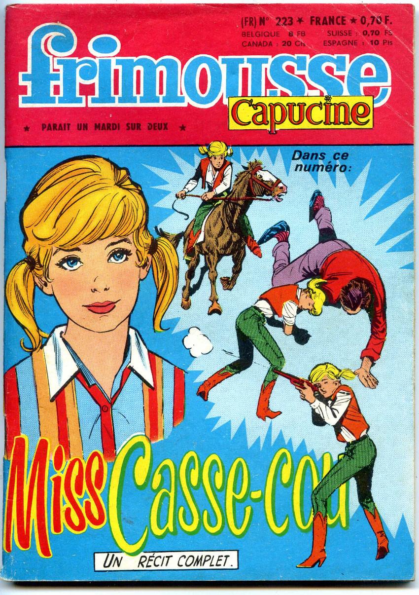 Couverture de Frimousse et Frimousse-Capucine -223- Miss casse-cou