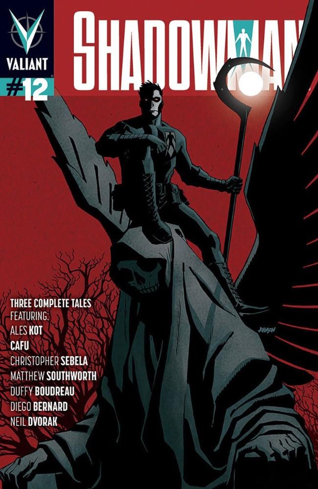 Couverture de Shadowman (2012) -12- Issue 12