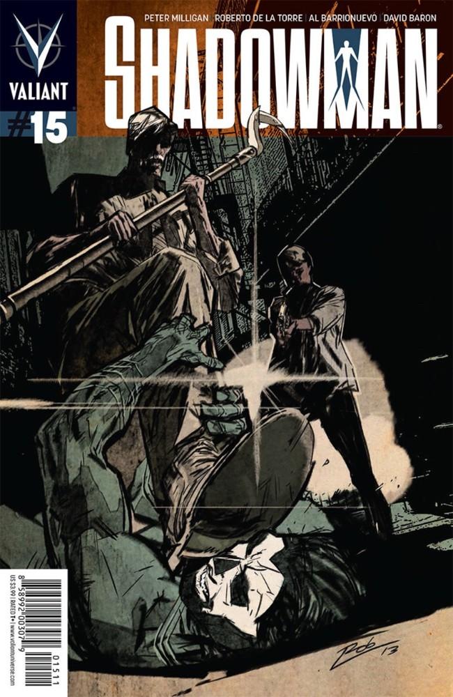 Couverture de Shadowman (2012) -15- Issue 15