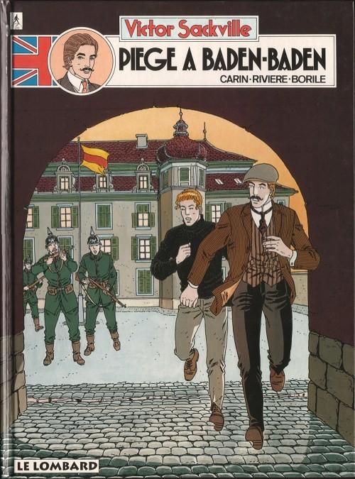 Couverture de Victor Sackville -11- Piège a Baden-Baden