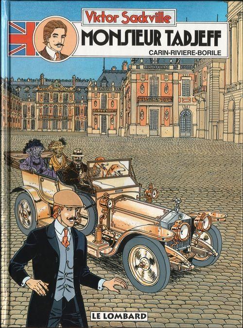 Couverture de Victor Sackville -13- Monsieur Tadjeff
