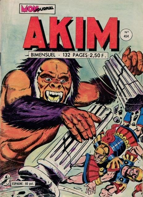 Couverture de Akim (1re série) -454- Titan