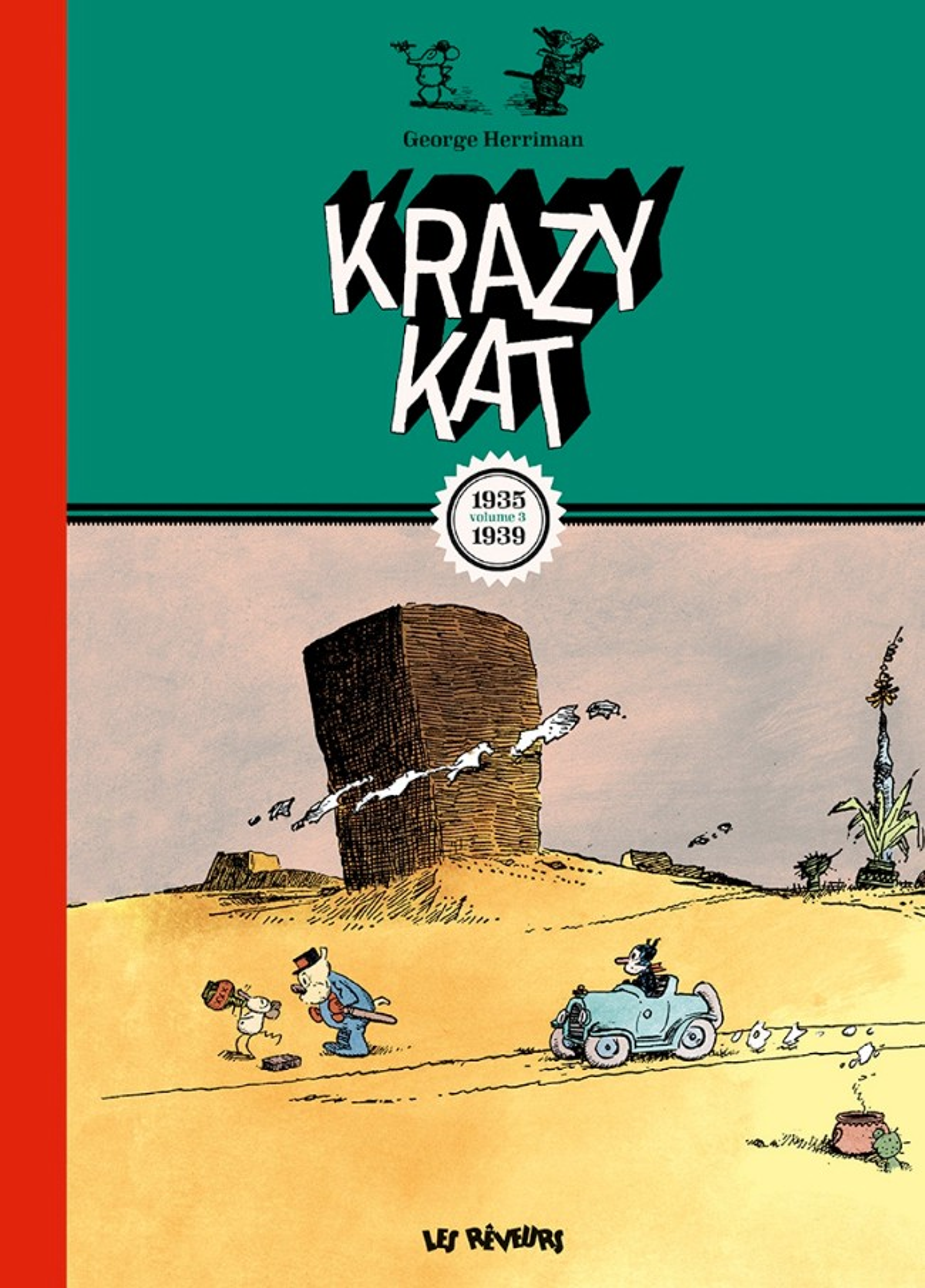 Couverture de Krazy Kat (Les Rêveurs) -3- Krazy Kat (1935-1939)