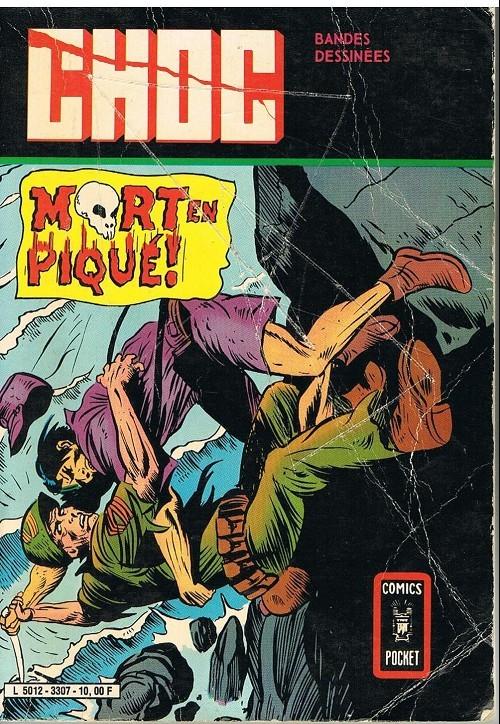 Couverture de Choc 2e série (Arédit - Comics Pocket) -Rec3307- Album N°3307 (n°27 et n°28)