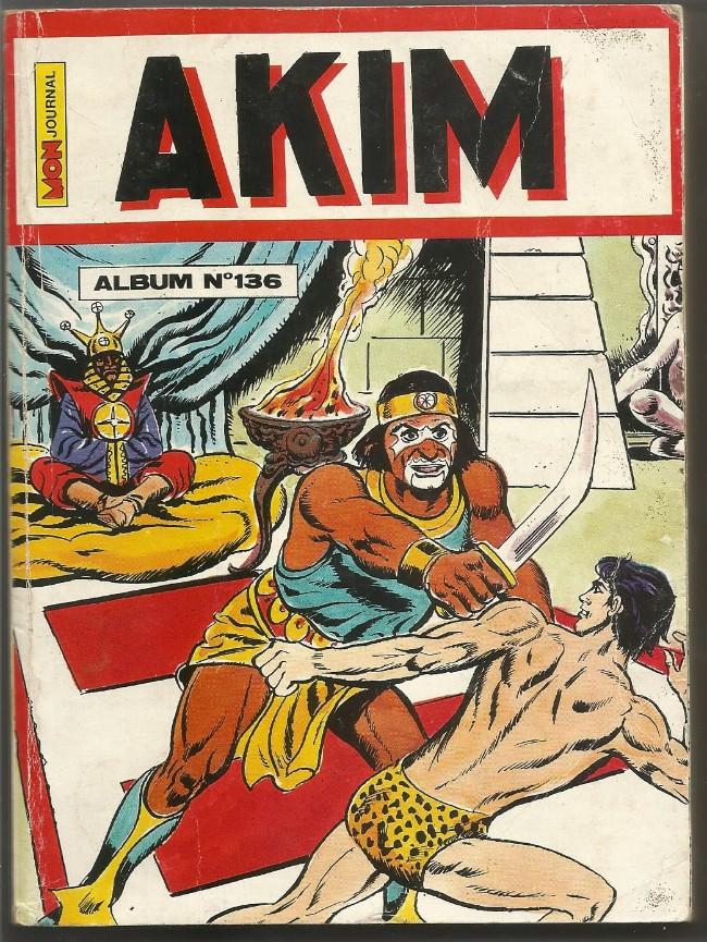 Couverture de Akim (1re série) -Rec136- Album N°136 (du n°665 au n°668)